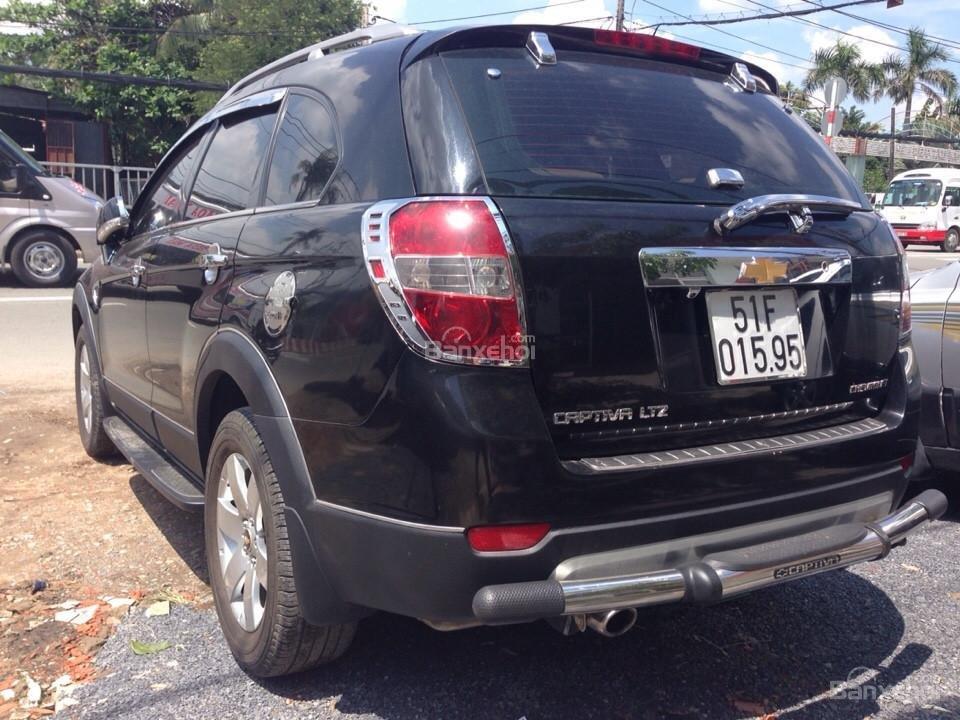 Cần bán xe Chevrolet Captiva đời 2007, màu đen-5