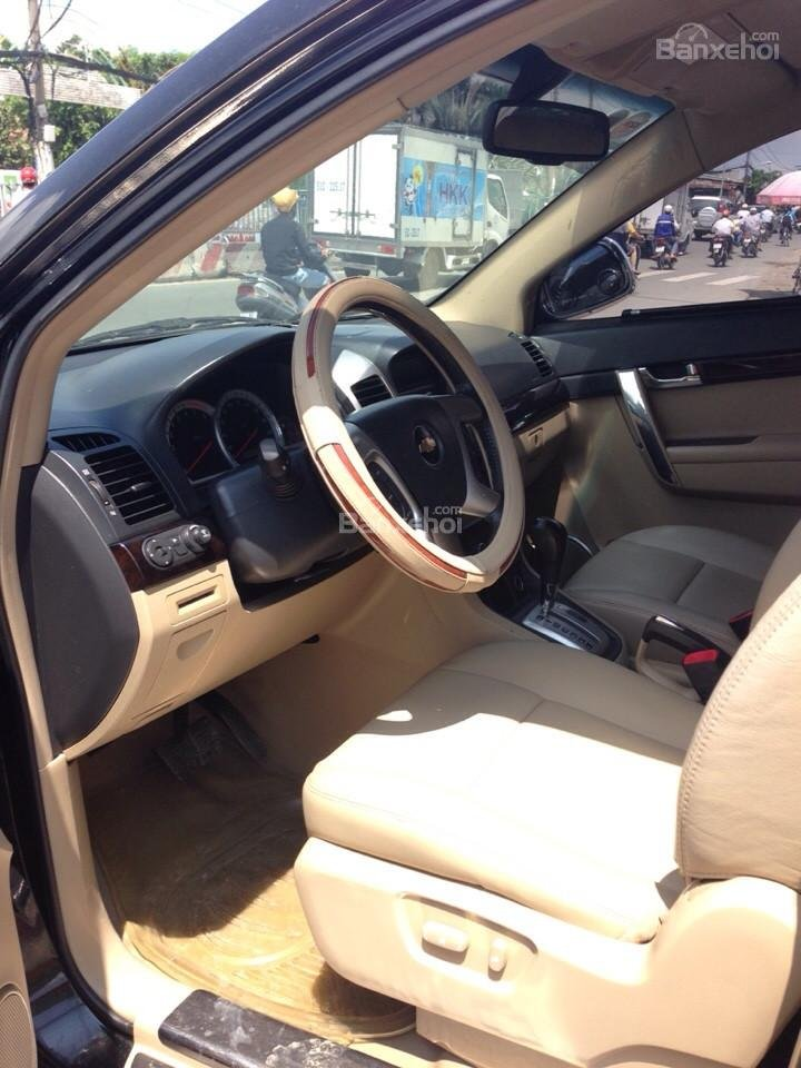 Cần bán xe Chevrolet Captiva đời 2007, màu đen-7