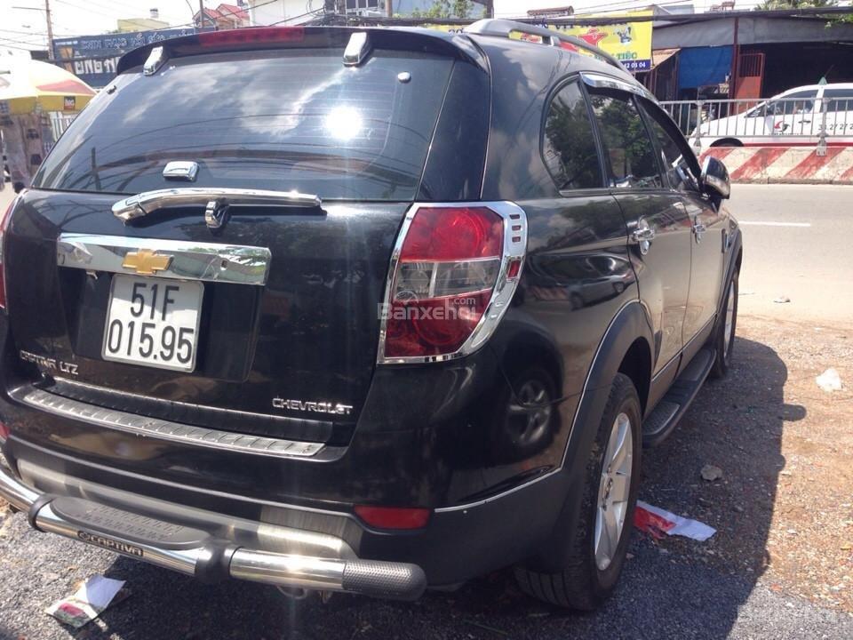 Cần bán xe Chevrolet Captiva đời 2007, màu đen-3
