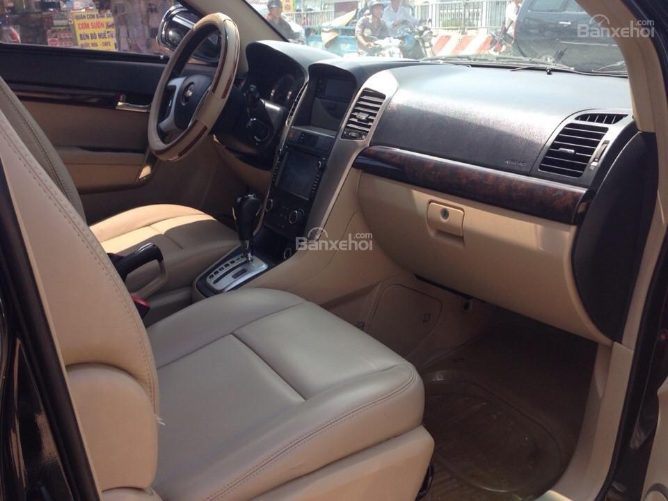Cần bán xe Chevrolet Captiva đời 2007, màu đen-10