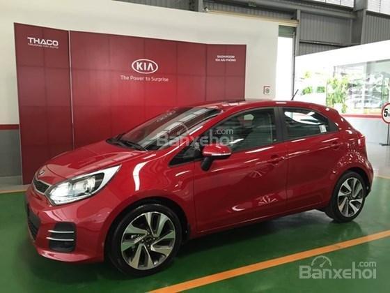 Bán xe Kia Rio Hatchback nhập khẩu chính hãng, màu đỏ, trả góp chỉ từ 200 triệu, có xe giao ngay tại Kia Hải Phòng-2