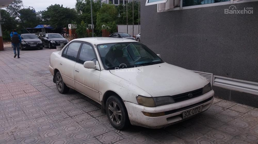 Cần bán Toyota Corolla đời 1996, màu trắng, nhập khẩu, 180tr-0