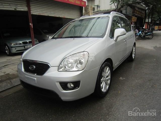 Cần bán xe Kia Carens đời 2011, màu bạc-4