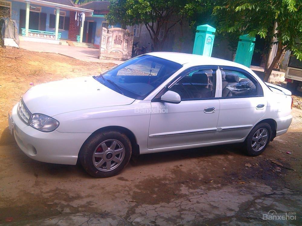 Cần bán Kia Spectra 2003, màu trắng, giá chỉ 205 triệu,xe gia đình-2