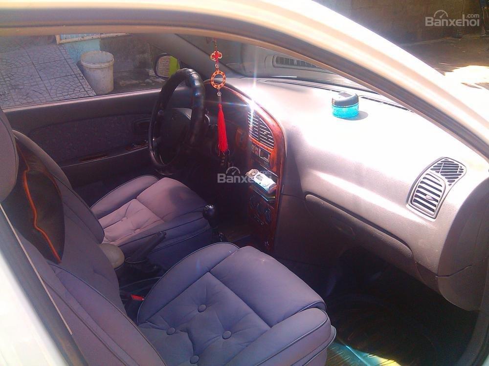 Cần bán Kia Spectra 2003, màu trắng, giá chỉ 205 triệu,xe gia đình-4