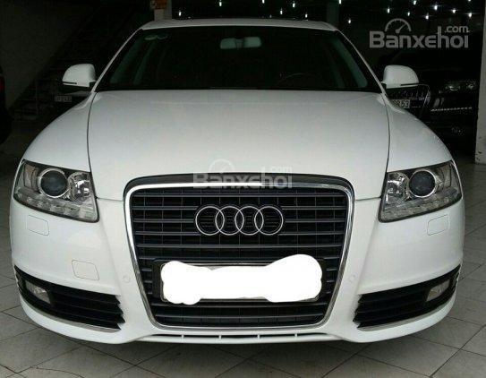 Cần bán Audi A6 năm 2010, màu trắng, nhập khẩu chính hãng-0