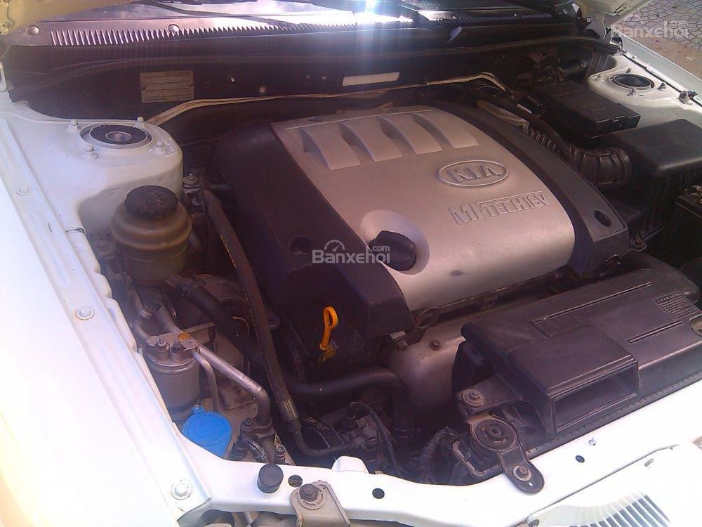 Cần bán Kia Spectra 2003, màu trắng, giá chỉ 205 triệu,xe gia đình-6