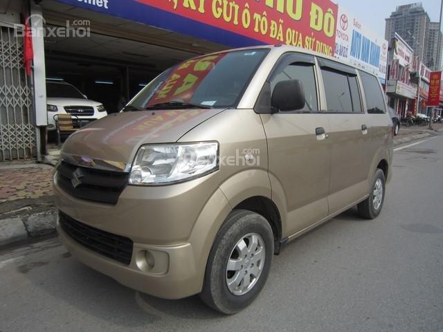 Cần bán Suzuki APV đời 2010, màu vàng-2