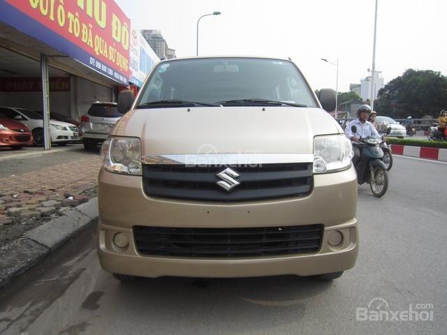 Cần bán Suzuki APV đời 2010, màu vàng-0