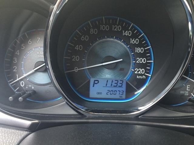 Em bán xe Toyota Vios G 2014 - 2015 - mầu vàng cát nội thất màu đen-8