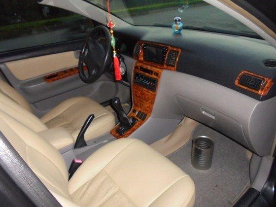 Gia đình cần bán xe Corolla Altis 1.8 số tay 2003 chính chủ mầu đen-4
