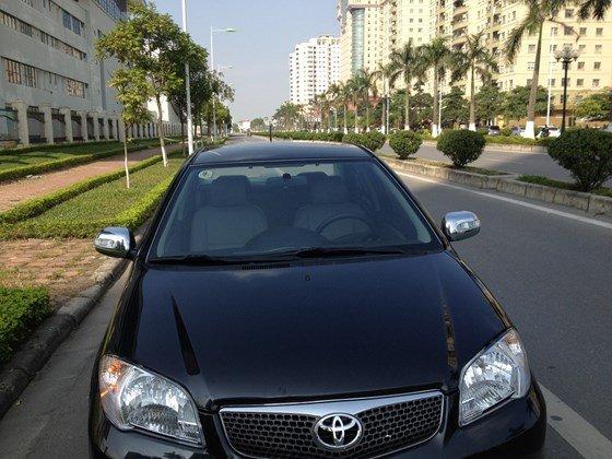 Cần bán gấp xe Toyota Vios 1.5G màu sơn đen, SX cuối 2007 xe đi rất ít, máy tốt tiết kiệm xăng-3