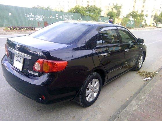 Auto Minh Hoàng bán xe Altis sản xuất và đăng ký cuối năm 2010, nguyên biển 30X-2