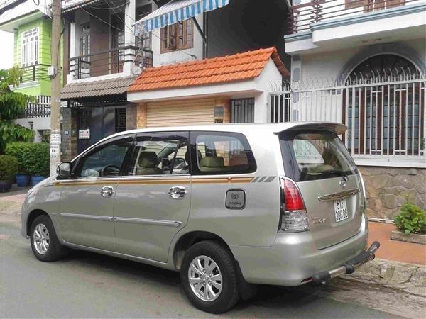 Cần bán Toyota Innova J - cũ trong nước sản xuất 2008, màu xám bạc giá tốt-0