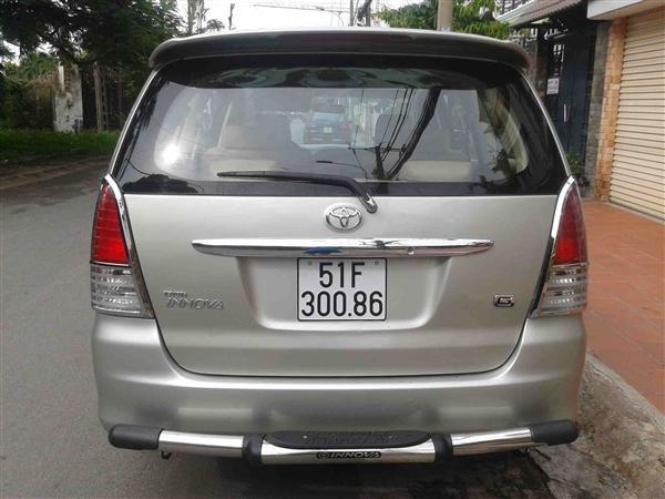 Cần bán Toyota Innova J - cũ trong nước sản xuất 2008, màu xám bạc giá tốt-6