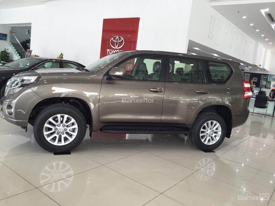 Prado 2.7AT 4x4 2015 màu nâu đồng, Toyota Giải Phóng cam kết giá tốt nhất -1