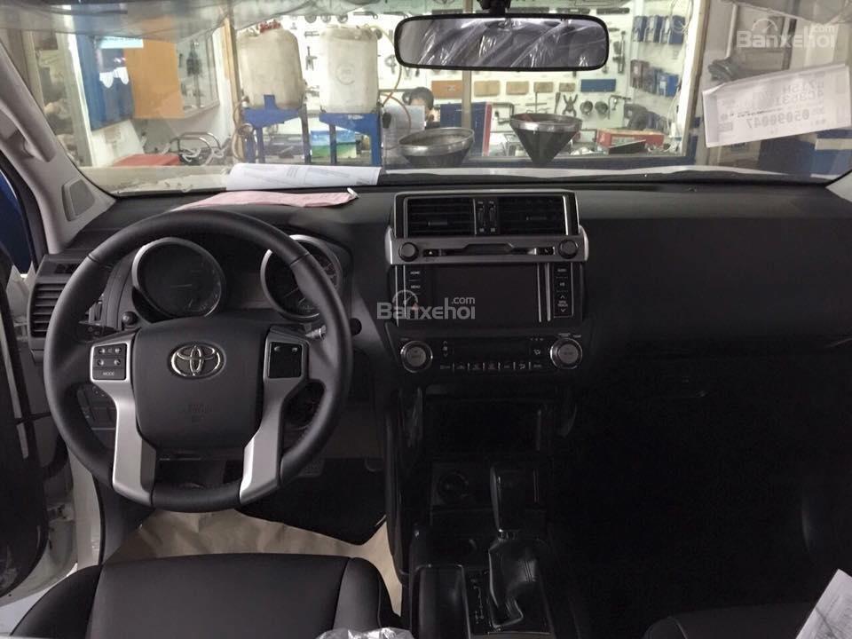 Prado 2.7AT 4x4 2015 màu nâu đồng, Toyota Giải Phóng cam kết giá tốt nhất -3
