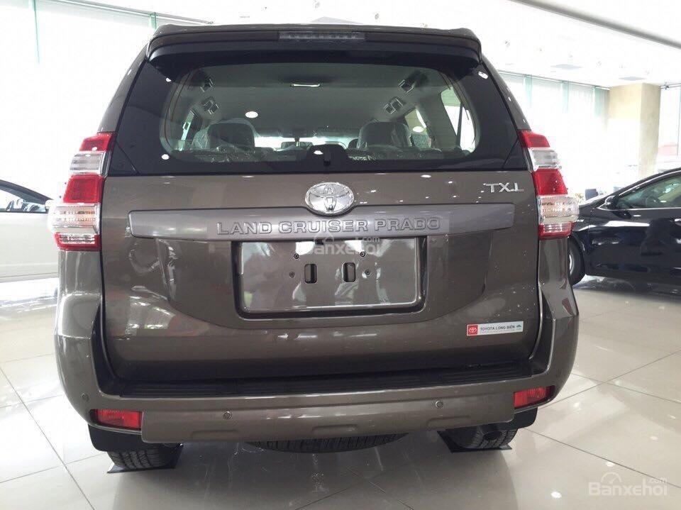 Prado 2.7AT 4x4 2015 màu nâu đồng, Toyota Giải Phóng cam kết giá tốt nhất -2