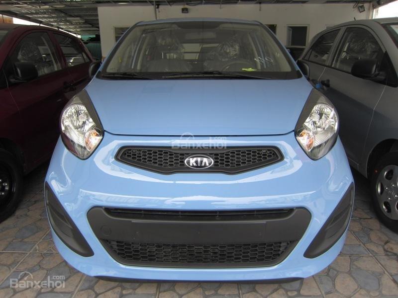 Cần bán xe Kia Morning Van đời 2014, màu xanh, nhập khẩu nguyên chiếc, số tự động-0