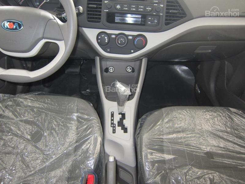 Cần bán xe Kia Morning Van đời 2014, màu xanh, nhập khẩu nguyên chiếc, số tự động-6