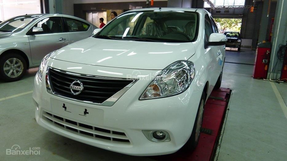 Bán Nissan Sunny đời 2016, xe Nhật Bản, màu trắng, giá 495tr, có khuyến mãi-0