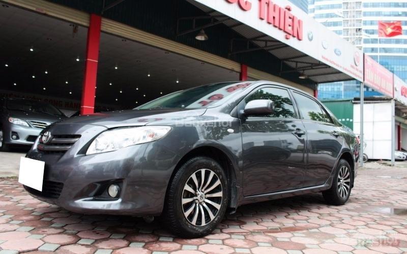 Cần bán xe Toyota Corolla XLI 1.6AT sx 2008, màu xám, nhập khẩu-0