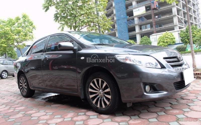 Cần bán xe Toyota Corolla XLI 1.6AT sx 2008, màu xám, nhập khẩu-1