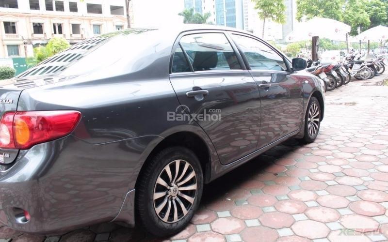Cần bán xe Toyota Corolla XLI 1.6AT sx 2008, màu xám, nhập khẩu-2