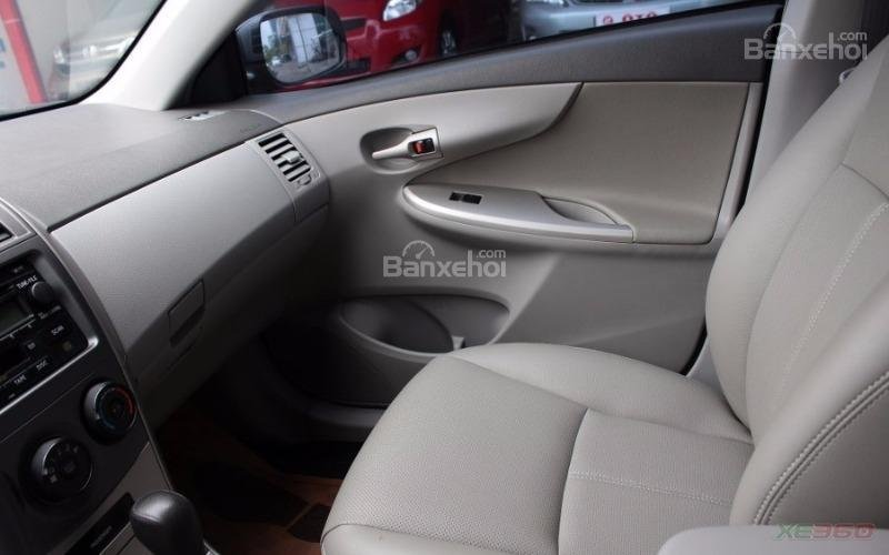 Cần bán xe Toyota Corolla XLI 1.6AT sx 2008, màu xám, nhập khẩu-8