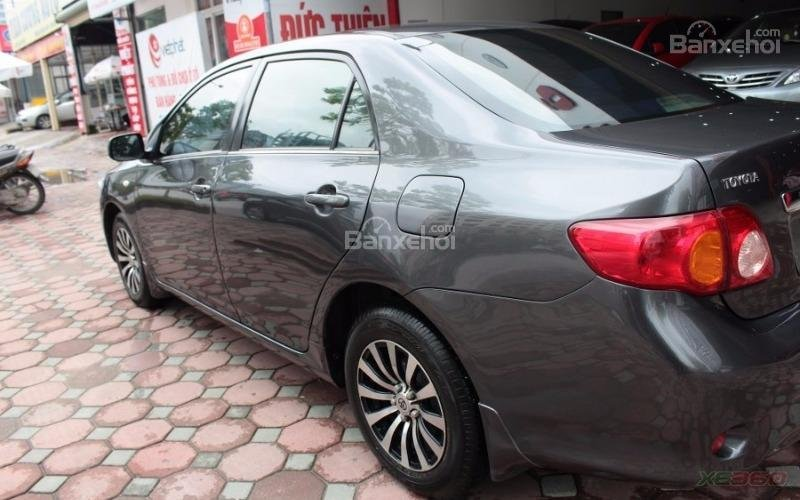 Cần bán xe Toyota Corolla XLI 1.6AT sx 2008, màu xám, nhập khẩu-3