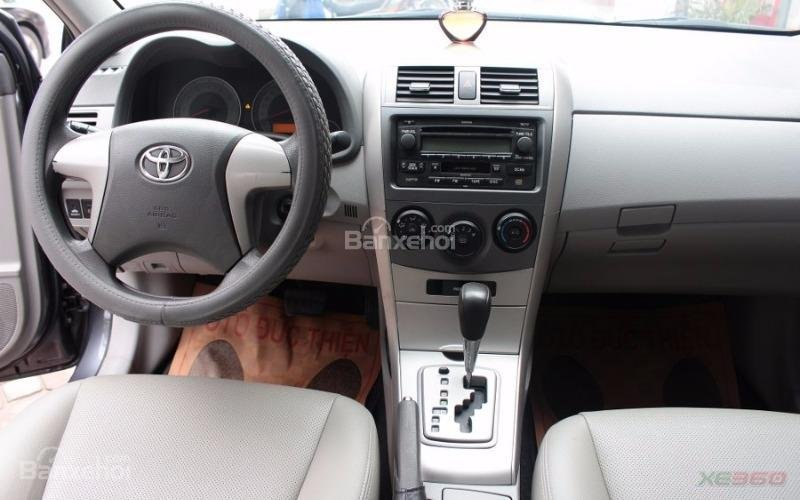 Cần bán xe Toyota Corolla XLI 1.6AT sx 2008, màu xám, nhập khẩu-6