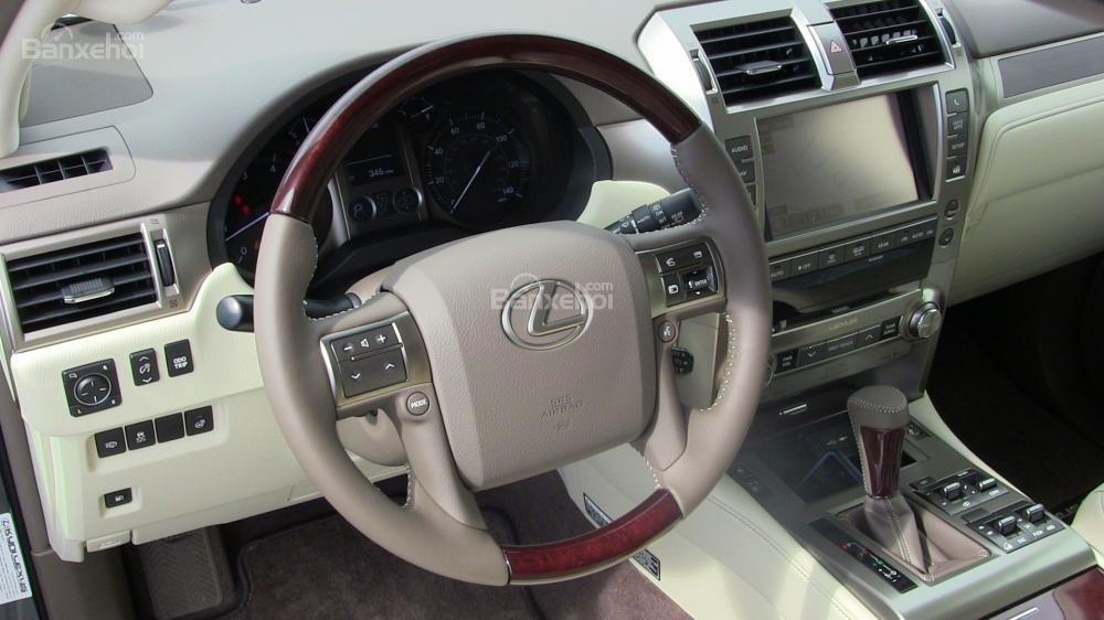 Bán ô tô Lexus GX460 đời 2011, màu trắng, nhập khẩu nguyên chiếc-3