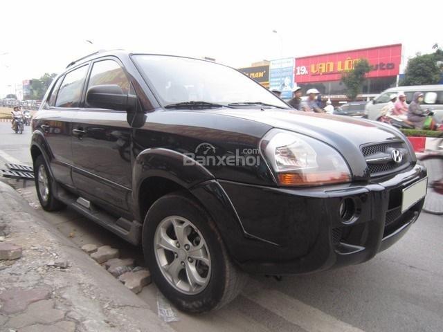 Bán Hyundai Tucson đời 2010, màu đen, nhập khẩu chính hãng-1