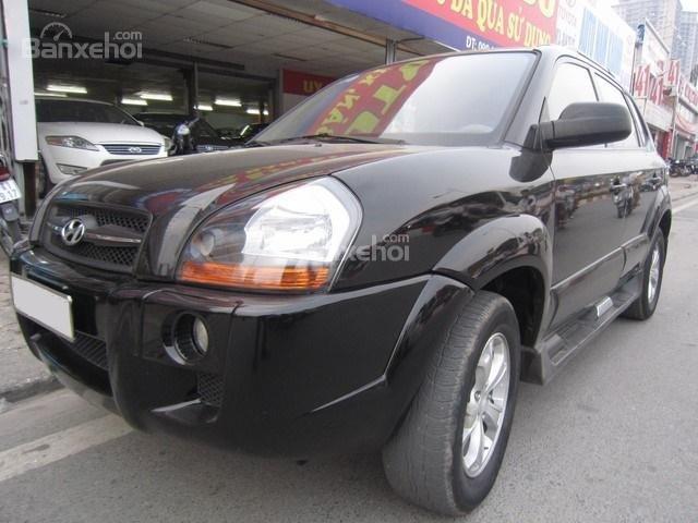Bán Hyundai Tucson đời 2010, màu đen, nhập khẩu chính hãng-0