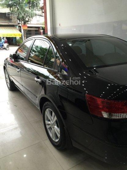 Cần bán Hyundai Sonata đời 2009, màu đen, nhập khẩu-6