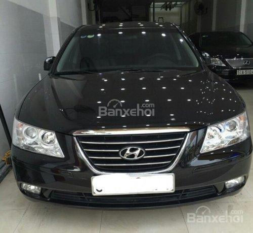Cần bán Hyundai Sonata đời 2009, màu đen, nhập khẩu-0