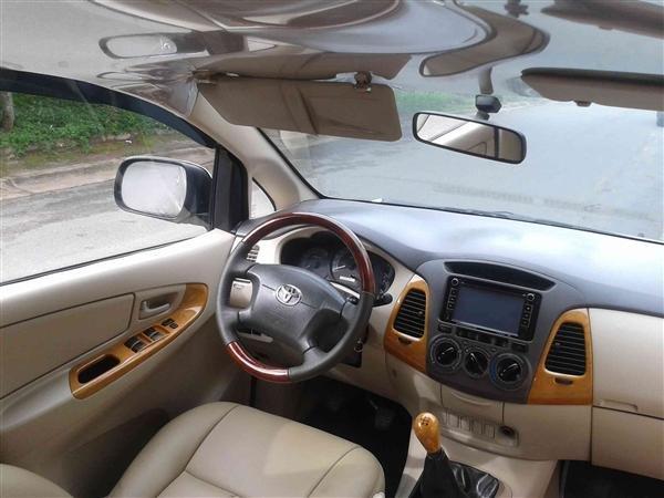 Cần bán Toyota Innova J - cũ trong nước sản xuất 2008, màu xám bạc giá tốt-3