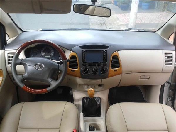 Cần bán Toyota Innova J - cũ trong nước sản xuất 2008, màu xám bạc giá tốt-2