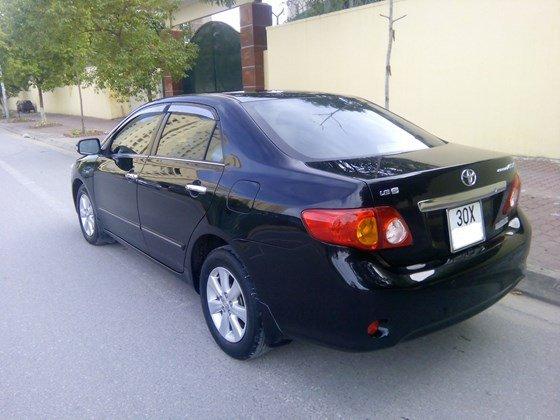 Auto Minh Hoàng bán xe Altis sản xuất và đăng ký cuối năm 2010, nguyên biển 30X-1