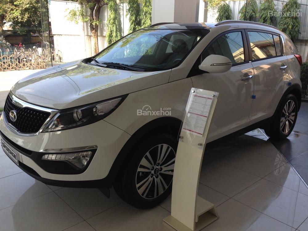 Bán xe Kia Sportage đời 2015, màu trắng, nhập khẩu chính hãng, giá 835tr-1