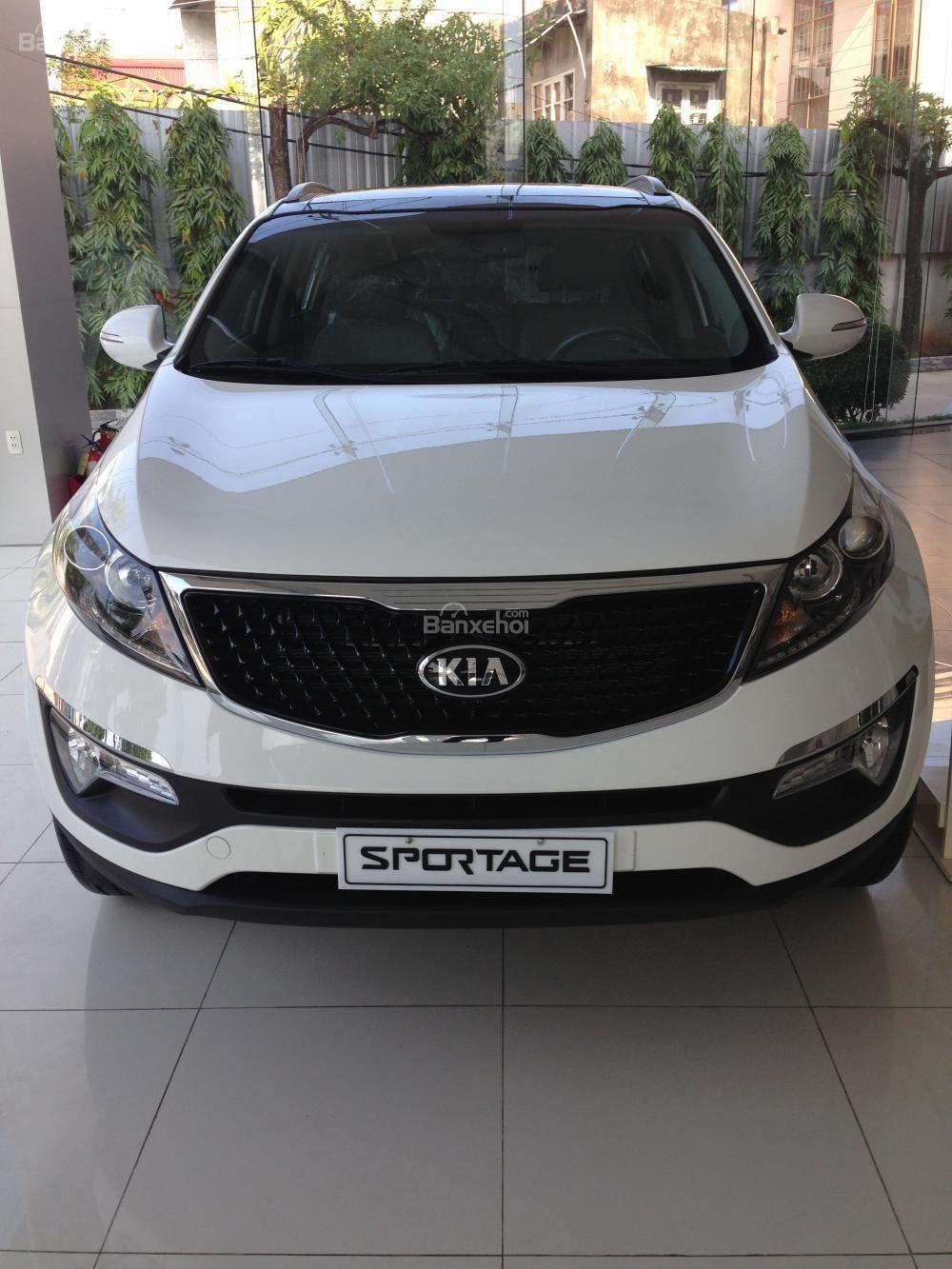 Bán xe Kia Sportage đời 2015, màu trắng, nhập khẩu chính hãng, giá 835tr-2