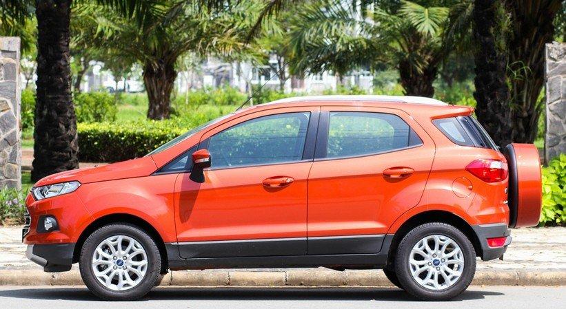 Ford EcoSport được thiết kế đậm chất thực dụng và kém thẩm mỹ 1