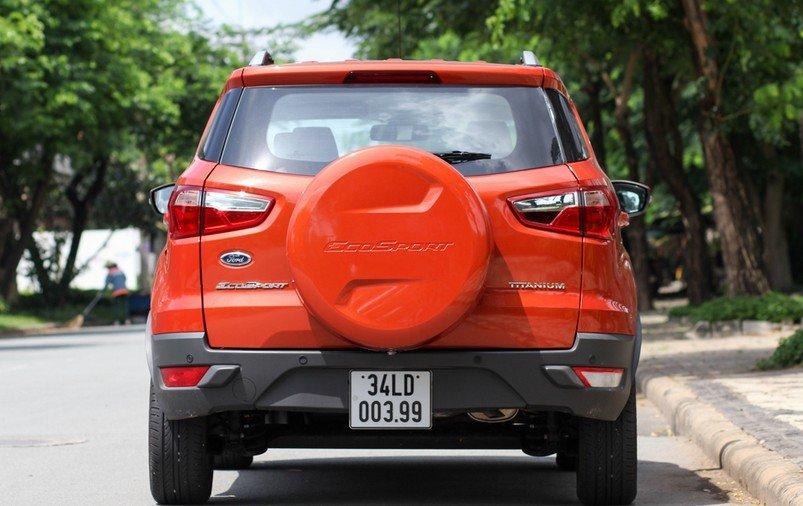 Ford EcoSport được thiết kế đậm chất thực dụng và kém thẩm mỹ 2