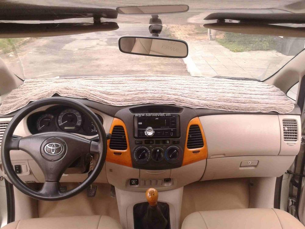 Bán xe Toyota Innova đời 2008, màu bạc, giá tốt nhanh tay liên hệ-5