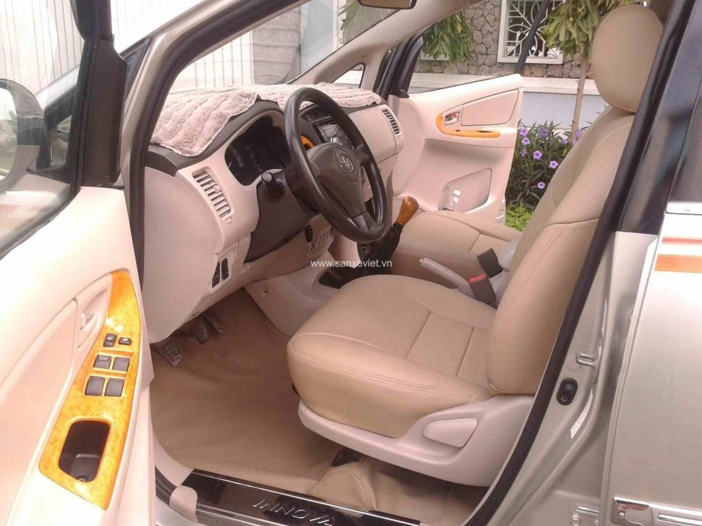 Bán xe Toyota Innova đời 2008, màu bạc, giá tốt nhanh tay liên hệ-3