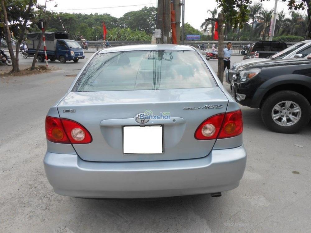 Bán ô tô Toyota Corolla Altis 1.8G đời 2002, màu bạc xe đẹp-5