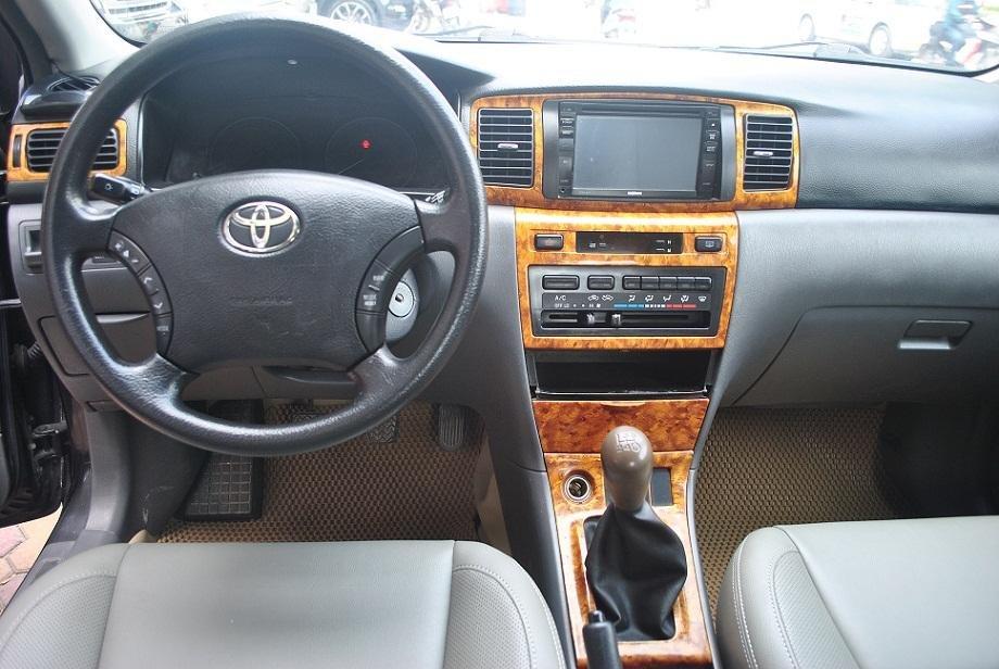 Xe Toyota Corolla Altis đời 2006, màu đen, nhập khẩu nguyên chiếc, chính chủ-3