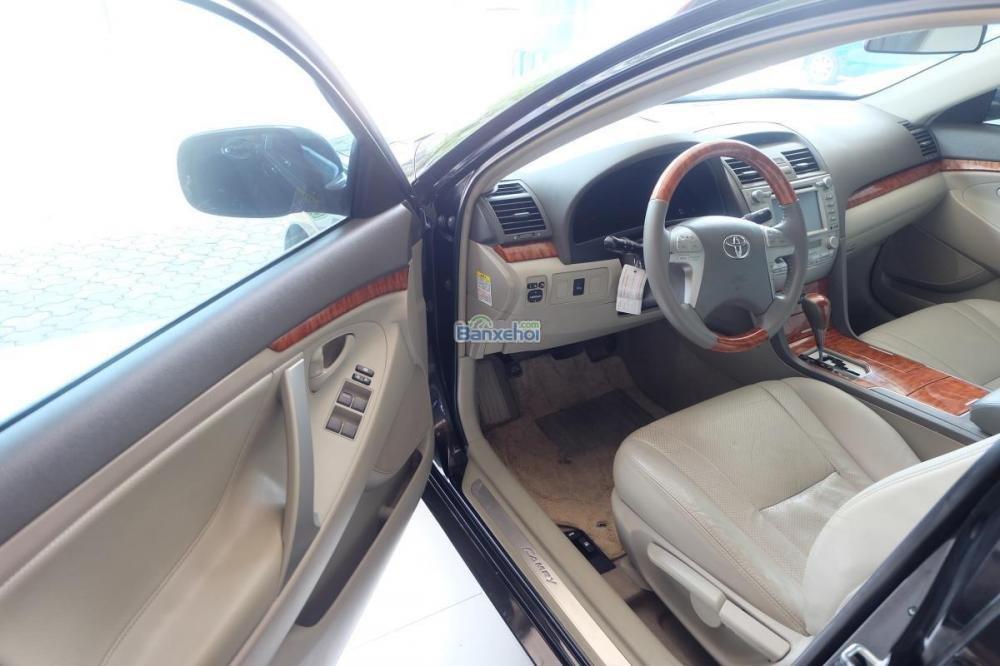 Bán xe Toyota Camry 2.0-E đời 2009, màu đen, xe nhập giá 840 tr-10
