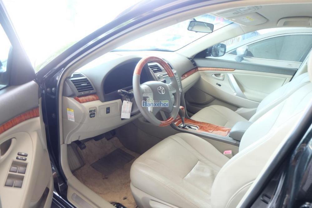 Bán xe Toyota Camry 2.0-E đời 2009, màu đen, xe nhập giá 840 tr-11