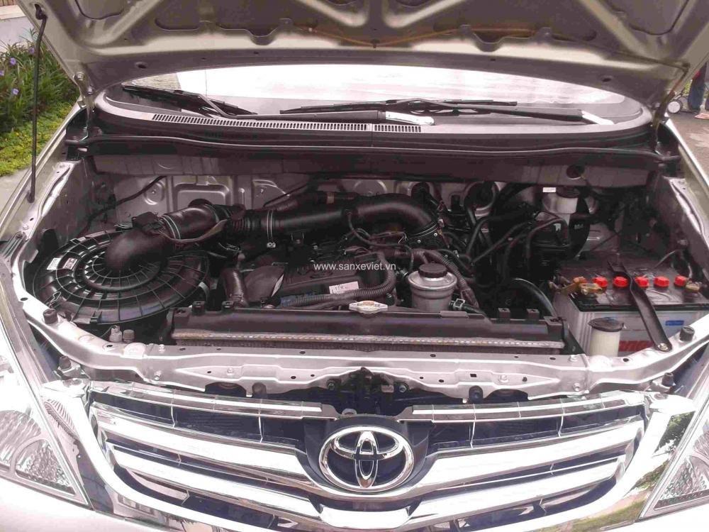 Bán xe Toyota Innova đời 2008, màu bạc, giá tốt nhanh tay liên hệ-6